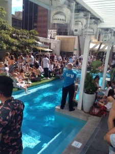 Poolparty at Ivy