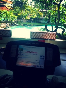 Work Out with a view