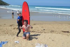 Surfen op de Great Ocean Road met Cam