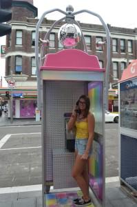 Newtown phonebooth