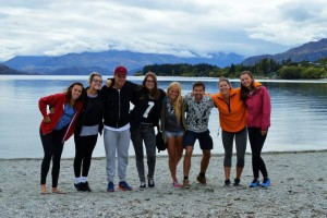 Wanaka with the crew