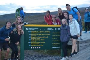 Tongariro Crossing start